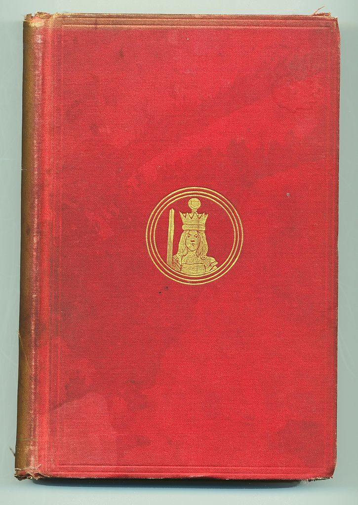 Cover of first edition: A New Alice in the Old Wonderland, 1895